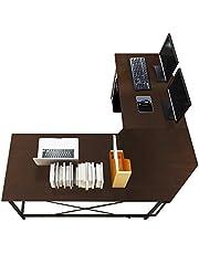 """Soges 59""""+59"""" L-Shaped Computer Desk"""