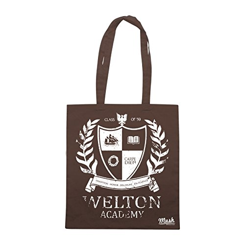 Borsa DEAD POET SOCIETY WELTON ACADEMY - Marrone - FILM by Mush Dress Your Style