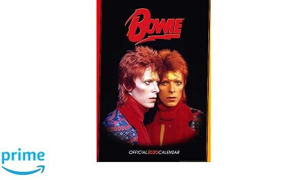 David Bowie 2020 Calendar - Official A3 Wall Format Calendar ...