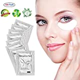 100 Pairs Gel Eye Pads,Hydrogel Eye Patch,Eyelash Extension Eye Pads,Lint Free Eye Gel Pads for Eyelash Extension Supplies, Beauty Makeup Eye Mask Kit,Eye Mask Beauty Tool