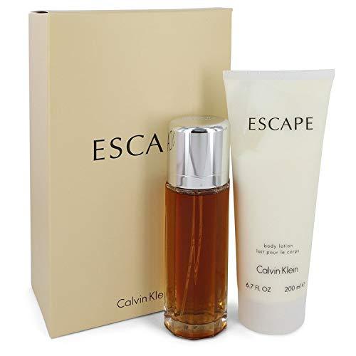 Calvïn Kleïn Escãpe Perfume Gift Set For Women 3.4 oz Eau de Parfum Spray + 6.7 OZ Body Lotion