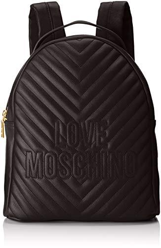 Quilted Borsa Love Moschino Portés Nero Pu Noir Dos Sacs BqBw5frE