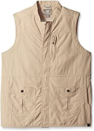 White Sierra Men\'s Traveler Vest, X-Large, Khaki