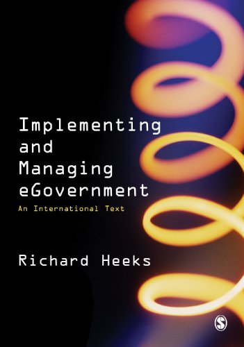 Download Implementing and Managing eGovernment: An International Text Pdf