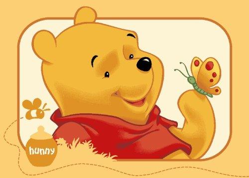Amazonde Teppich Kinderteppich Winnie the Pooh Schmetterling 95