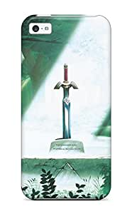 Thomas Jo Jones's Shop Best UB2ZI1P2P6Y6Q2ZZ New Premium Case Cover For Iphone 5c/ The Legend Of Zelda Sword Protective Case Cover