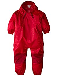 TUFFO Muddy Buddy Rain Suit, Red, 60 Months