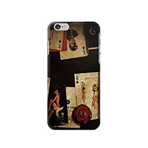"""Old Vintage Sexy Poker 4.7 inches Iphone 6 Case,fashion design image custom iPhone 6 4.7 inches case,durable iphone 6 hard 3D case cover for iphone 6 4.7"""", iPhone 6 Full Wrap Case"""