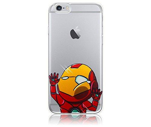 Iron Man iPhone 6 / 6s Case, PopJoy® - (4.7 Inch Case) Light, flexibile, shock-absorbant TPU case w/ premium designs (Iphone Marvel Case compare prices)