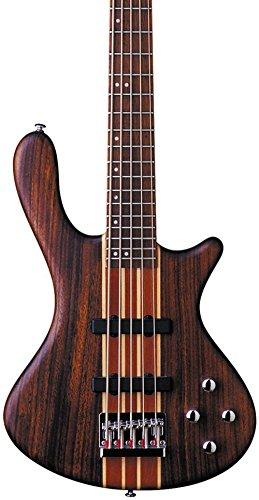 Washburn Taurus T25 5-String Neck-Thru Electric Bass Guitar Natural Mahogany