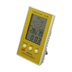 Malloom LCD Thermometer High Stability Accuracy Humidity Hygrometer Temperatu...