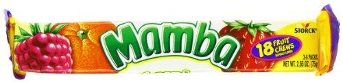 Mamba Fruit Chews, 18 ct (Mamba Fruit Chews)