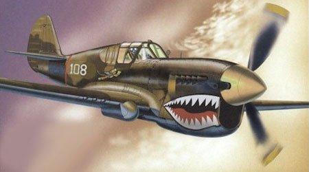 P-40 E Warhawk, AVG,