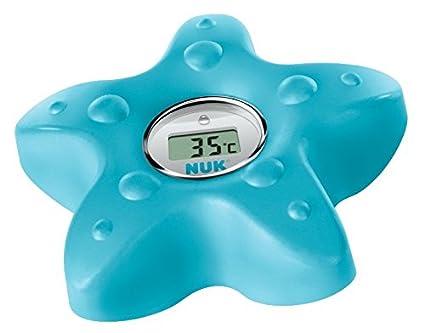 NUK 10256379 Termómetro de baño digital, para medir la temperatura del agua, gasolina