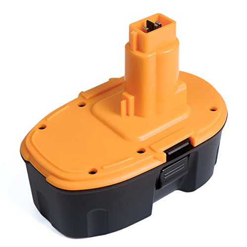 FLAGPOWER Replacement Battery 18V for Dewalt XRP DC9096 DC90