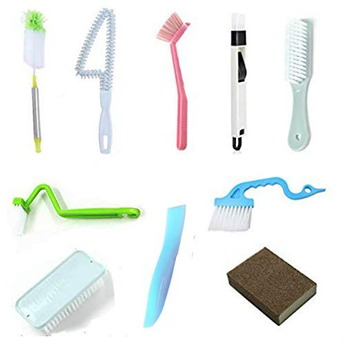 - Ruibai Kitchen Cleaning Brush Window Cleaning Brush Crevice Cleaning Brush Cup Cleaning Brush Laundry Brush Toilet Brush Bathroom Cleaning Brush Set