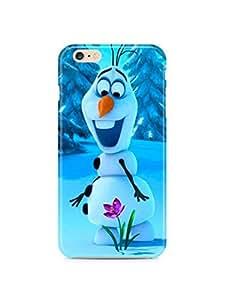 BESTER Frozen Olaf Disney Iphone 6 Hard Case Cover