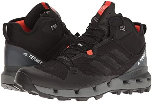 メンズブーツ・靴 Terrex Fast GTX-Surround Black/Black/Vista Grey 8.5 (26.5cm) D - Medium