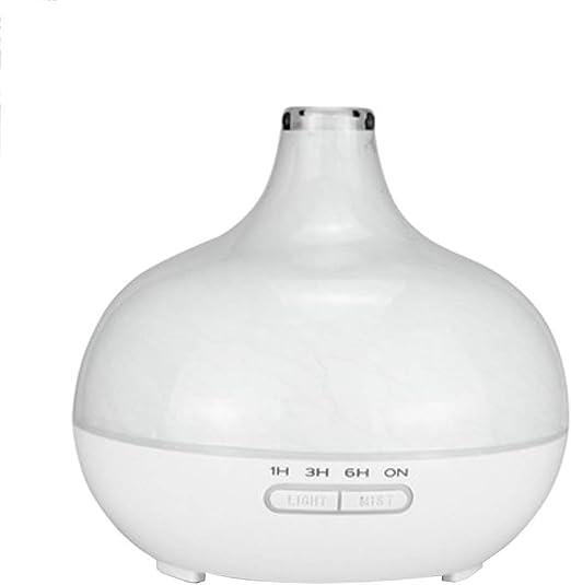 400 ml de Vidrio LED humidificador Flotante ultrasónico Colorido ...