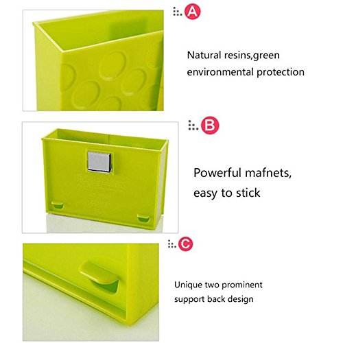 Kicode Créatif Aimant Frigo Magnétique Kitchenware Organizer Rack Box Storage