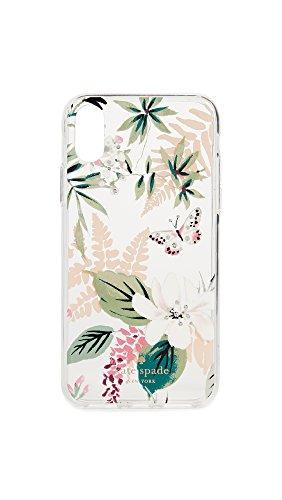 Kate Spade New York Botanical Clear iPhone X Case, Clear Multi, iPhone X