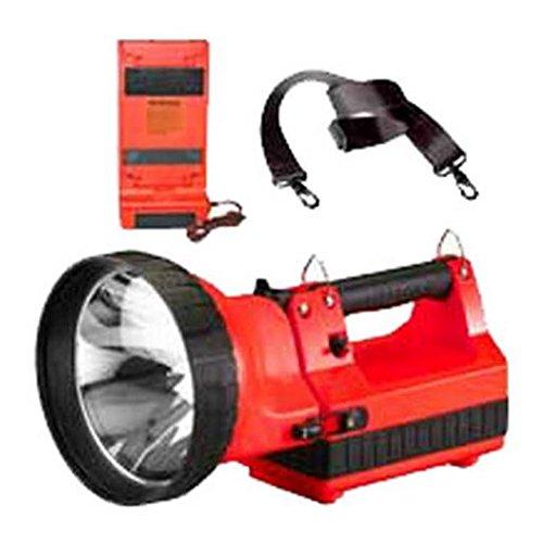 (Streamlight 45605 HID Litebox Flashlight with DC Charger, Orange - 3350 Lumens)