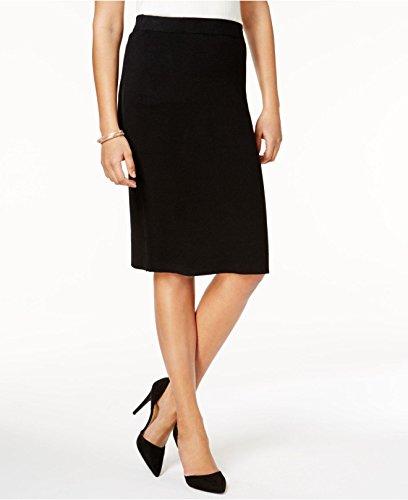 - Charter Club Women's Milano Pencil Skirt (Deep Black, S)