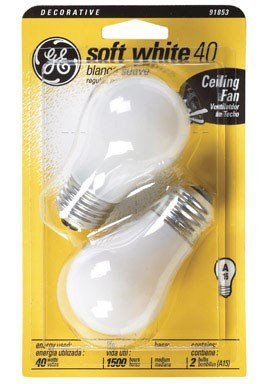Bulb Ceilfan Wht 40w Cd2
