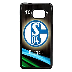 Lovely FC Schalke 04 Phone Case For Samsung Galaxy S6 Edge Plus A57316
