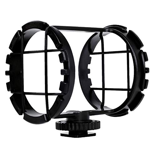 """Price comparison product image BY-C03 Camera Shoe Shockmount for Microphones 1"""" to 2"""" in Diameter (Fits The Zoom H1)"""