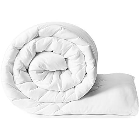 Solimo Microfibre Double Comforter White