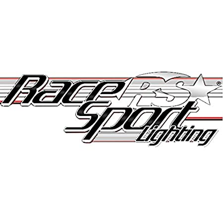 Race Sport RS-400HD Side Marker Light ICC 3-Light Cluster for 2.5 Power Coated Finish