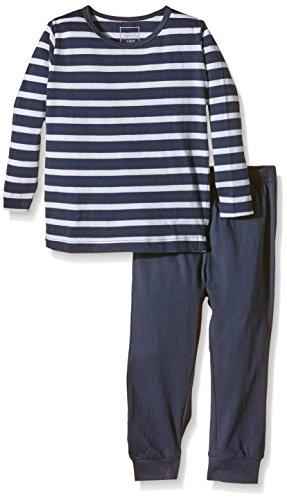 NAME IT Baby-Jungen Zweiteiliger Schlafanzug NITNIGHTSET M B NOOS, Gestreift, Gr. 104, Mehrfarbig (Dress Blues)