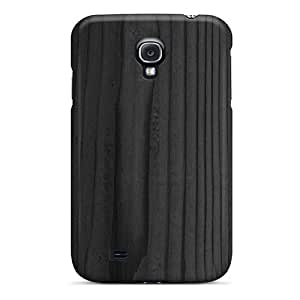 Black Wood Texture Case Compatible With Galaxy S4/ Hot Protection Case