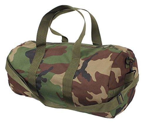 Sports Gym Shoulder Canvas Sport Shoulder Duffle Bag with Strap 19