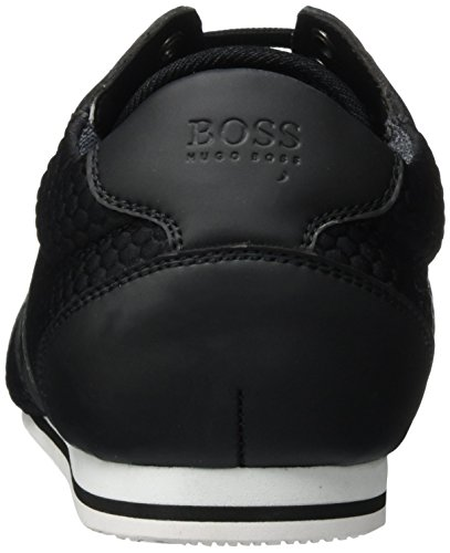 BOSS Green Lighter_lowp_neem 10201646 01, Zapatillas para Hombre, Negro (Black), 39 EU