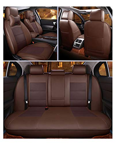 Car Seat Protector For Leather Seats Compatible With BMW I3 (Color : Brown, Size : Without pillow): Kitchen & Home