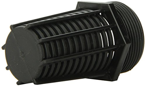 Lifegard Aquatics 1-1/2-Inch Threaded Suction/Overflow Strainer ()