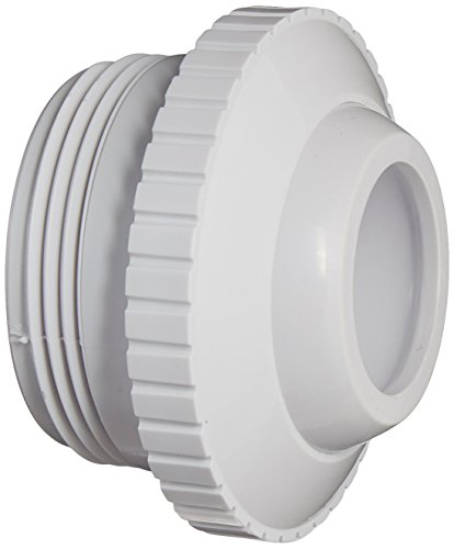 Hayward SP1419E White 1-Inch Opening Hydrostream Directional Flow Inlet Fitting with 1-1/2-Inch MIP - White Inlet