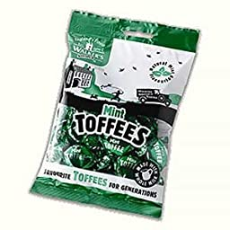 Walkers Nonsuch Mint Toffee 150g bag x4