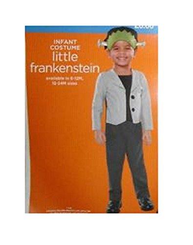 Toddler Frankenstein Costumes (Infant Costume - Little Frankenstein (12-24 MONTHS))