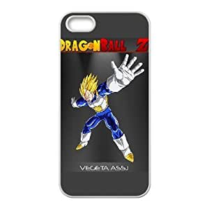 HD exquisite image for iPhone 5 5s Cell Phone Case White vegeta dragon ball z Popular Anime image WUP8093223