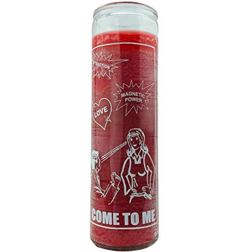 Come To Me Ven A Mi Red 7 Day Spiritual Candle Santeria Wicca Magick
