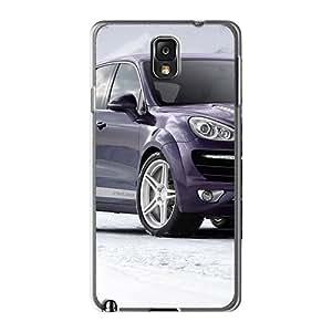 Galaxy Note 3 Hard Back With Bumper Silicone Gel Tpu Case Cover Porsche Cayenne Vantage Ii