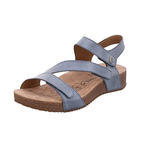Josef Seibel Damer Tonga Rem Sandaler Blå 25 (lyseblå) g0lKYMe