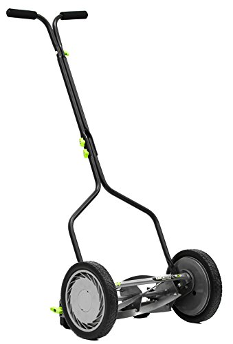 Earthwise 1314-14EW 14-Inch 5-Blade Economy Reel Mower by Earthwise