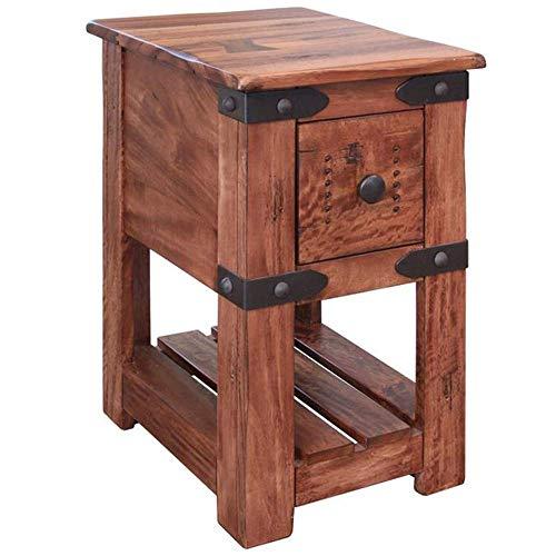 Granville Parota Wood Side Table - Series II