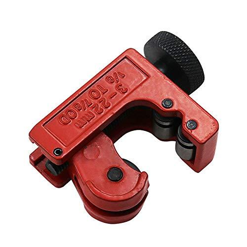 NewKelly Mini Tubing Cutter Copper Pipe Plumbing Brake Line Cutting Plastic PVC Brass