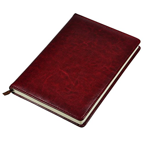 Littfun Leather Journal (Diary, Notebook - Executive Burgundy Leather Shopping Results