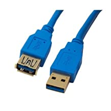 NEON Super High Speed USB 3.0 Extension Cord Type A Male To Female Cable 3ft. Model 0118A-USB3-100cm